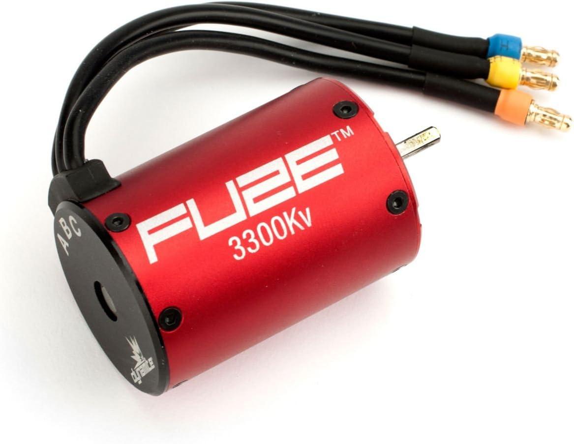 Dynamite Fuze 1/10 4-Pole Brushless Motor: 3300Kv