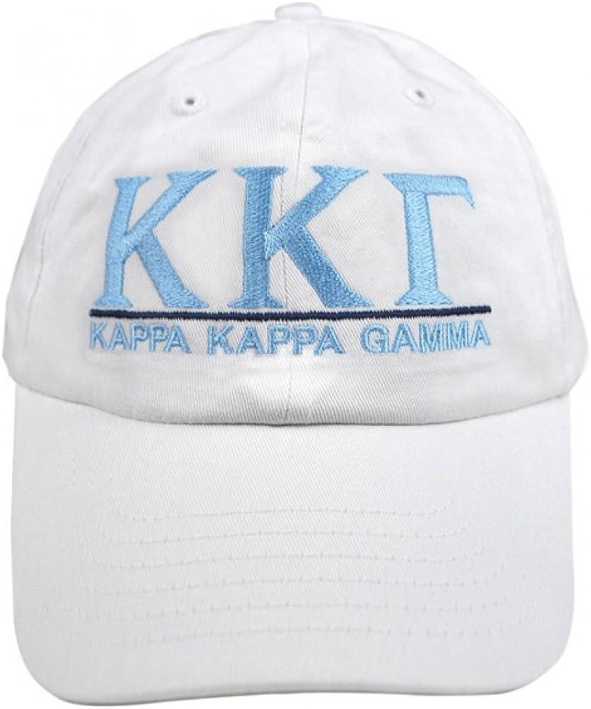 Kappa Delta Chiseled Greek Sorority Line Hat