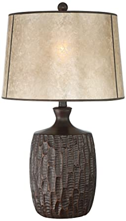 Kelly Table Lamp With Mica Shade Amazon Com
