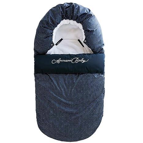Saco de dormir para bebé con sobre de invierno para recién nacidos, saco de algodón