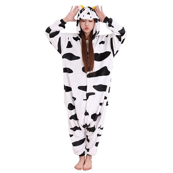 SODIAL(R) Treacle a diseño de Pijama Mujer de Hombre de Unisex de Forro