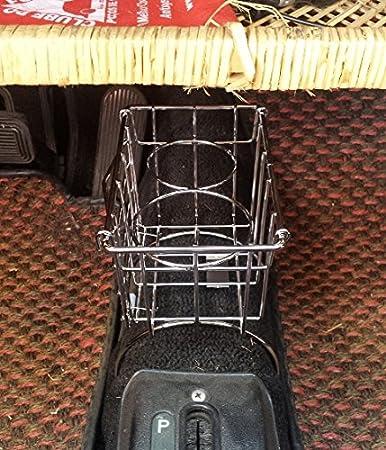 New VW Accessory Utility Tunnel Basket Black Type 3 Bug Ghia