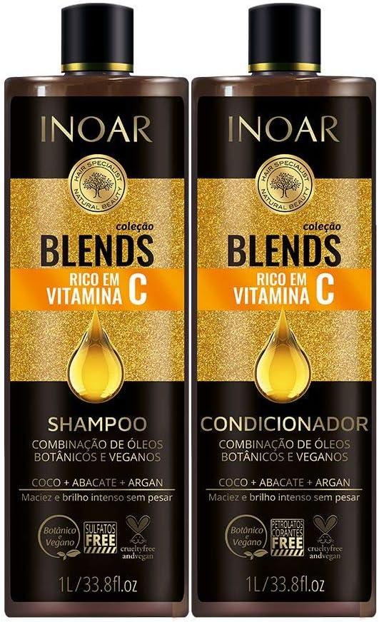 Shampoo e Condicionador Blends Vitamina C