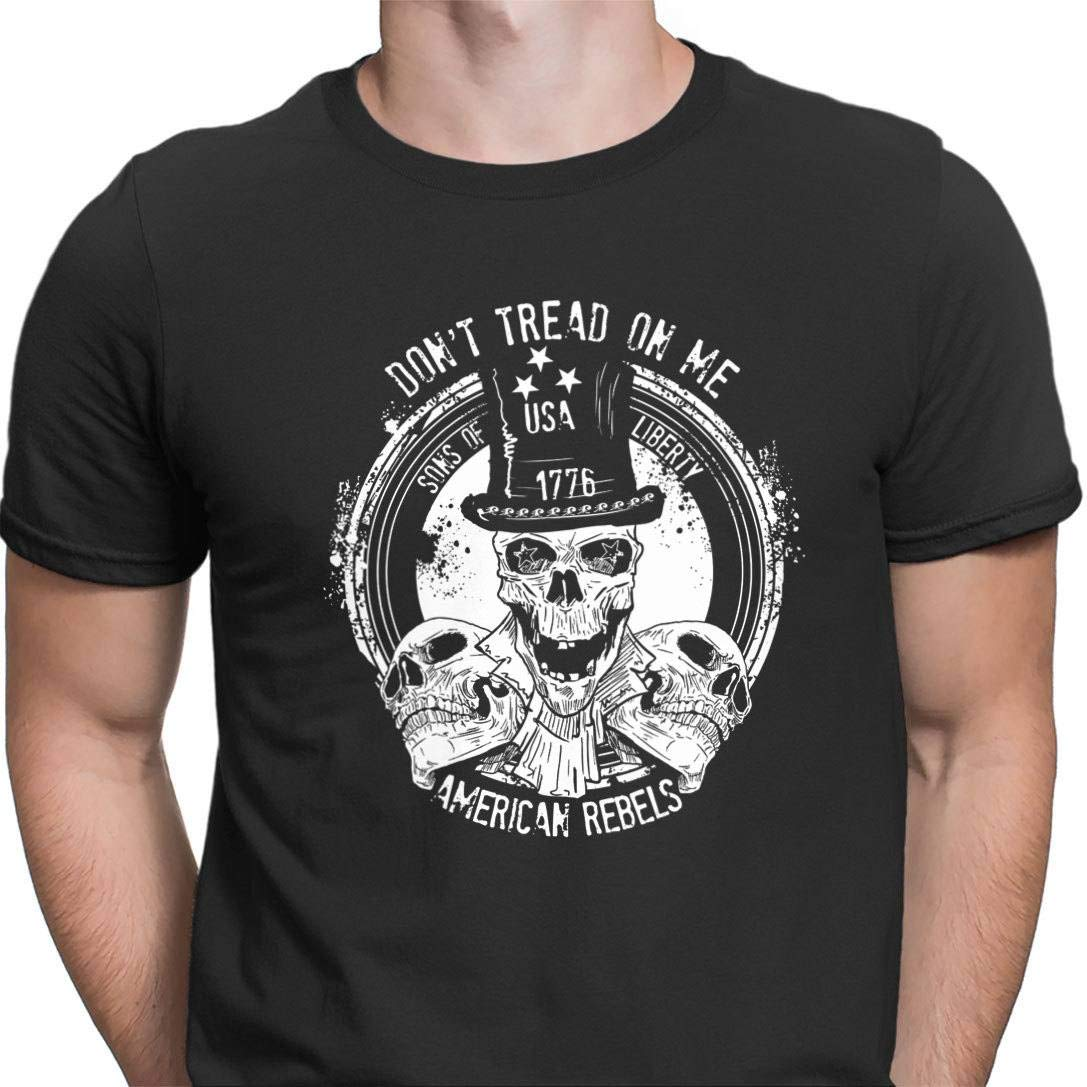 Dont Tread on Me American Rebels Gildan T-Shirt