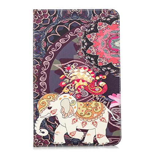 Pattern Generation Leather Case eReader Hello Bookstyle Wake Say Amazon for Auto LMFULM® 8th Inch Kindle Panda PU Sleep Closure Function 2016 6 Color Ultra Card of Magnetic Leather Kindle 4 Case Thin xFW1Xz
