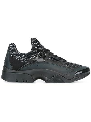 f440c89b44f KENZO HOMME M57041 NOIR CUIR BASKETS  Amazon.fr  Chaussures et Sacs
