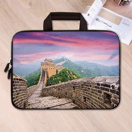 a51890cf4ed1 Amazon.com: Great Wall of China Custom Neoprene Laptop Bag,Fantasy ...