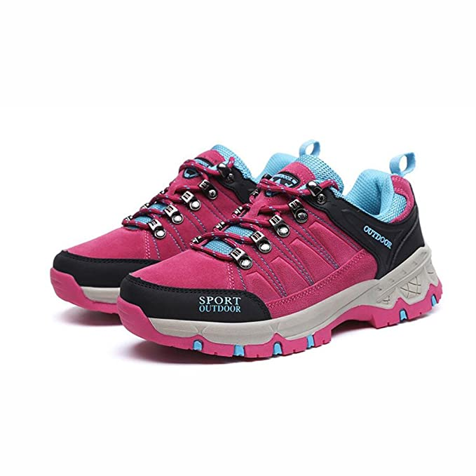 Amazon.com : YaXuan Womens Sneakers, 2018 Low Rise Hiking Shoes, Outdoor Sports Shoes, Breathable Trekking Climbing Shoes, Lace-Up Shoes, Couple Shoes ...