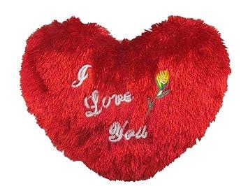 Shopperz Cute Valentine I Love You Hanging Heart Stuffed Soft Plush