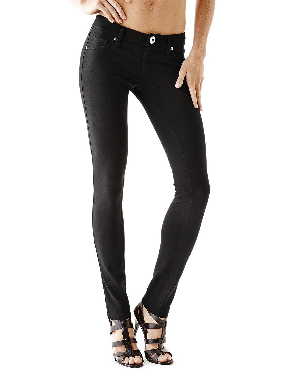 GUESS Factory Women's Miri Ponte-Knit Skinny Pants GuessFactory