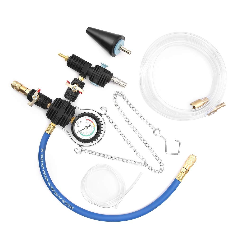 Auto Coolant Vacuum Kit Cooling System Radiator Set Refill and Purging Tool by Sholer (Image #3)