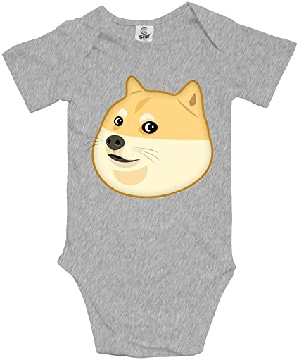Doge Head Funny Short Sleeves Baby Bodysuits Outfits Infant Clothes Romper: Amazon.es: Ropa y accesorios