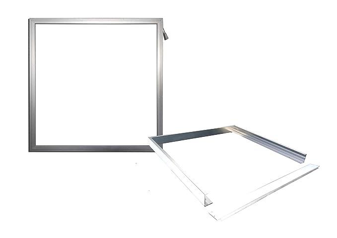 Panel LED 60 x 60 cm impermeable Deck – Lámpara bombilla de baño Cocina Luz con