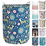 Merdes 19.7'' Waterproof Foldable Laundry Hamper, Dirty Clothes...