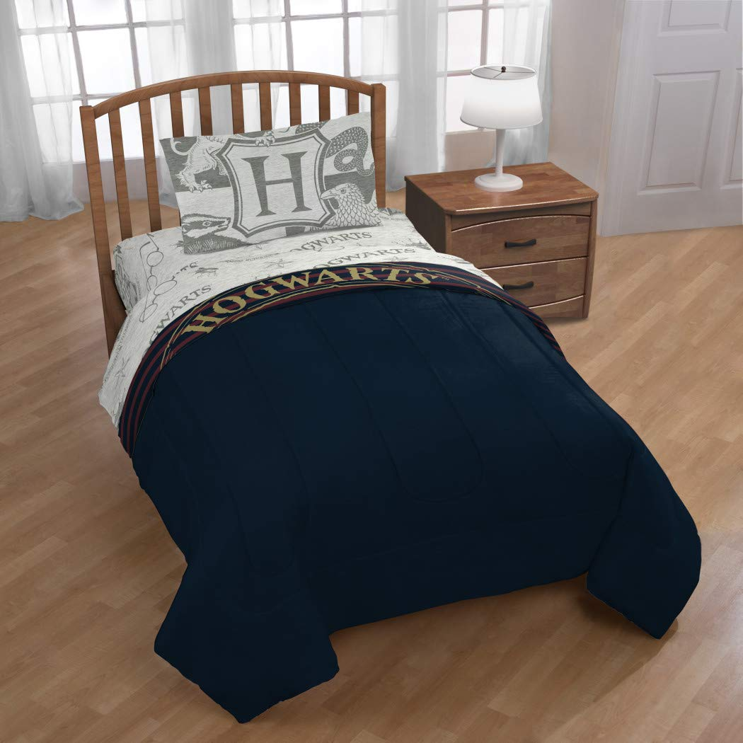 CDM product Jay Franco Harry Potter Spellbound 4 Piece Twin Bed Set, Mutli small thumbnail image