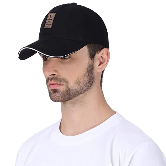 0fa46ad2a502 DALUCI Baseball Men s Adjustable Casual Cap Leisure Solid Color Fashion  Summer Hats for Men Women (