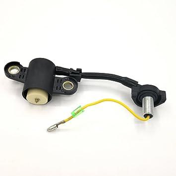 Interruptor de sensor de nivel de aceite para HONDA GX340 GX390 GX270 GX240 8HP 9HP 11HP 13HP Gas Motor Generador Bomba de agua: Amazon.es: Jardín