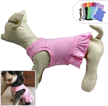 2015 Pet Puppy Summer Shirt Small Dog Cat Pet Clothes Stripe Vest Hot Soft Winte