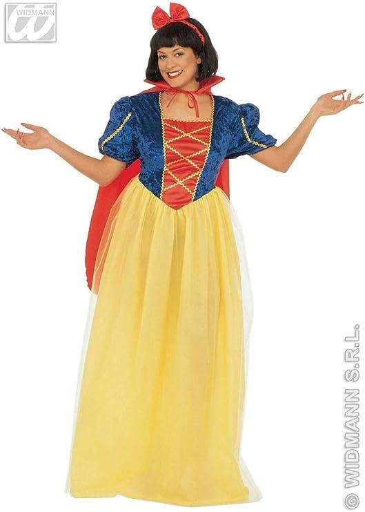 WIDMANN All4Yourparty Disfraz de princesa medieval para mujer ...