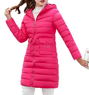 EMIN Damen Mantel Wintermantel Steppmantel Winterparka Damen