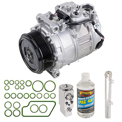 OEM AC Compressor w/A/C Repair Kit For Mercedes ML350 GL320 GL350 GL450  GL550 R350 R500 - BuyAutoParts 60-81319RN NEW