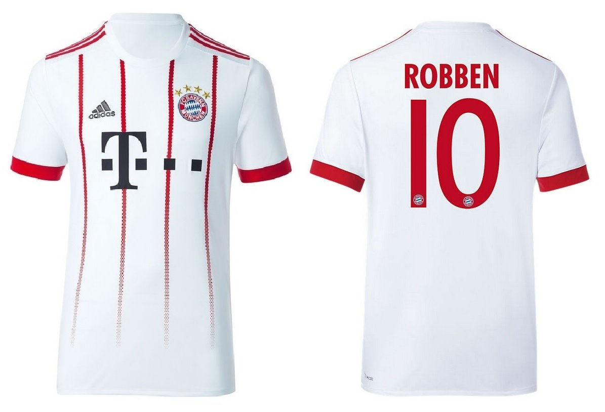 Trikot Kinder FC Bayern 2017-2018 Third - Robben 10