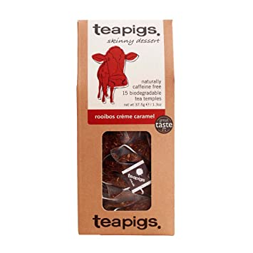 Teapigs Rooibos Creme Caramel 37.5 g (Pack of 1, Total 15 Tea Bags): Amazon.es: Electrónica