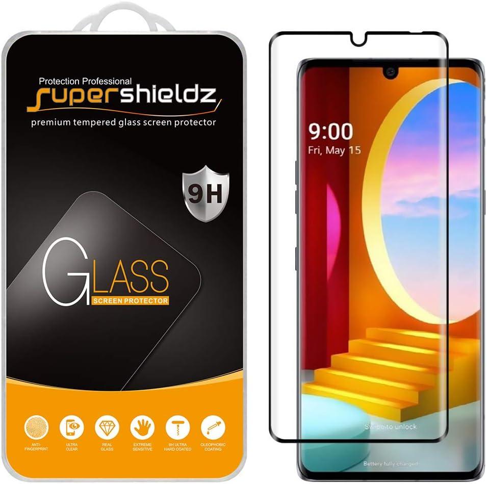 2 vidrios templados para LG velvet Supershieldz