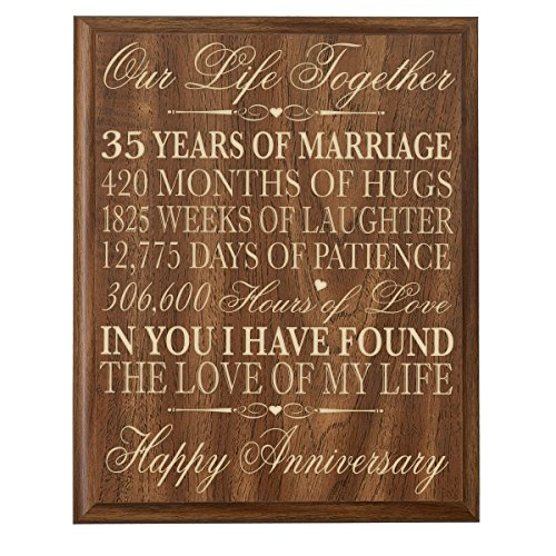 35 Wedding Anniversary Gifts For Parents: 35 Year Anniversary Gift: Amazon.com