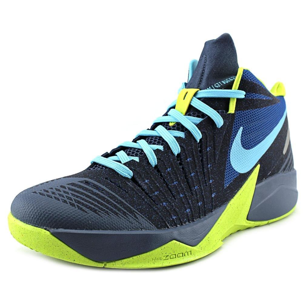 Amazon.com | Nike Mens Zoom I Get Buckets Basketball Shoe White/Photo Blue/Wolf Grey/Team Orange | Basketball