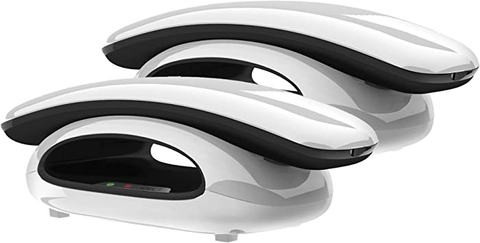 iDECT Eclipse Twin Cordless Home Office Landline Telephone Answering Machine ID