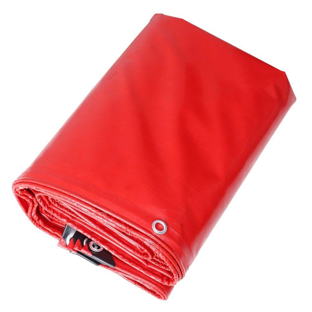 JINSH Regenfestes Tuch, wasserdicht, Wasserdichte Plane, Cargo-Sonnenschutzdämmungsaktivität Grüneilt, staubdicht, Winddicht, Abriebfest und Anti-Aging (Farbe   A, Größe   2x2M)
