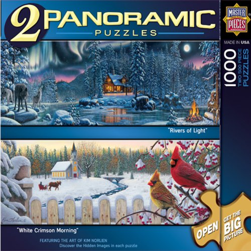 MasterPieces Winter Series 2 Panoramic Puzzle