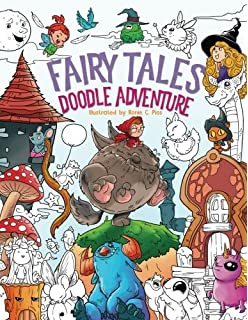 fairy tales doodle adventure a beautiful coloring book for adults boys and girls - Dr Seuss Coloring Book