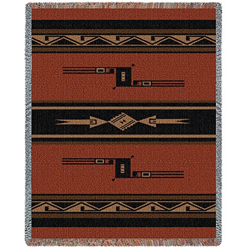 Pure Country Inc. Mesquite Earth Tapestry Throw Blanket by Pure Country
