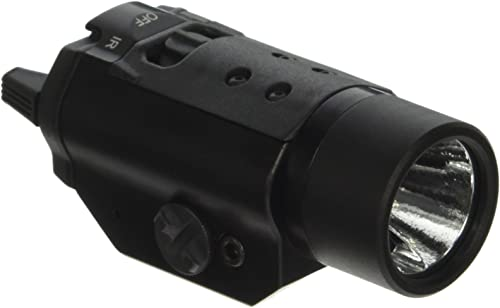Streamlight 69190 TLR-VIR Pistol-Mounted Tactical Light with Visible White Light and IR Illuminator – 300 Lumens