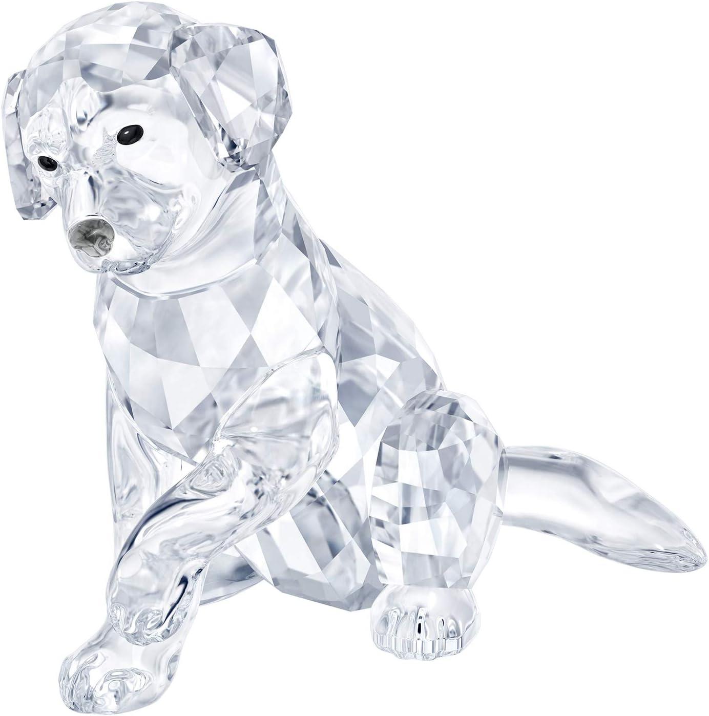 SWAROVSKI Labrador Mother, Crystal, Transparent, 6.1 x 6.8 x 4.2 cm