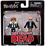 The Walking Dead Minimates Series 6 Constable Rick Grimes & Douglas Monroe