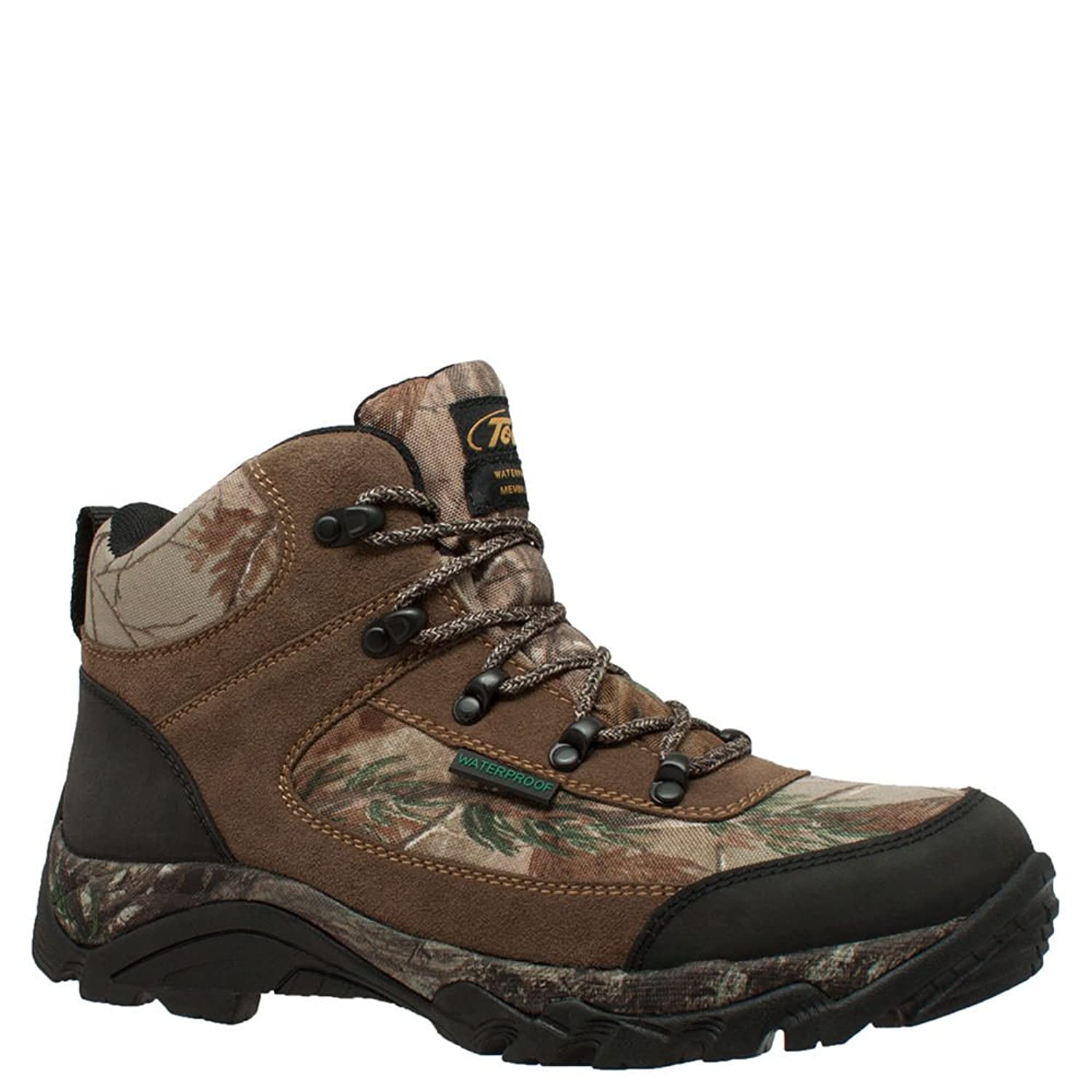 "AdTec Men's 9643 6"" Waterproof Realtree 400G Camo Boot"