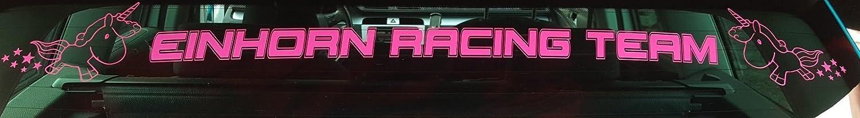 Aufkleber Einhorn Racing Team