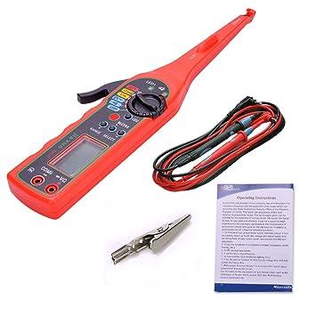 Rot Auto Digital-Multimeter Elektrische Schaltung Tester Lampe + ...