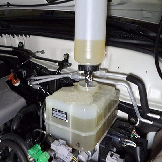 Funnyrunstore De vacío de aire herramienta neumática del freno del coche del líquido de embrague de aceite hidráulico de purga,Blanco: Amazon.es: Coche y ...