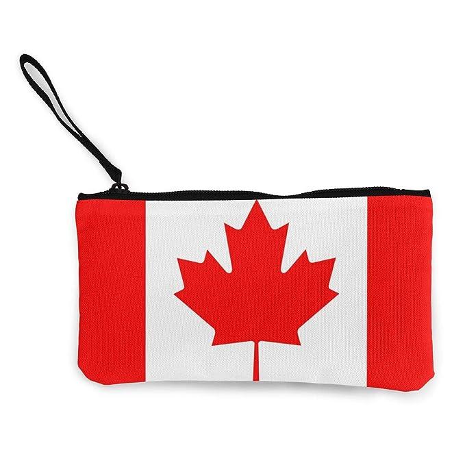 Amazon.com: Cartera de la bandera del Canadá monedero de ...