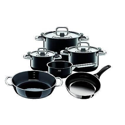 Silit - Batería de cocina (4 cacerolas y 2 sartenes)