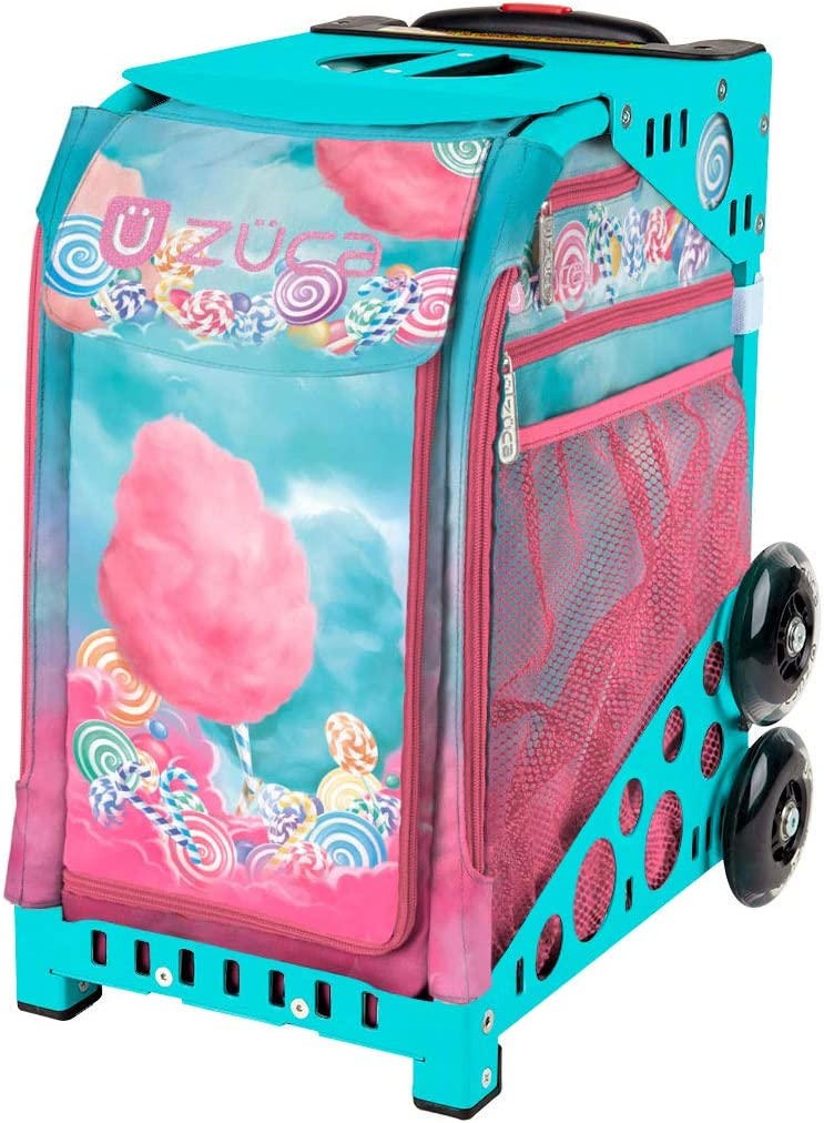 Zuca Sport Bag - Cotton Candy (Turquoise Frame) : Sports & Outdoors