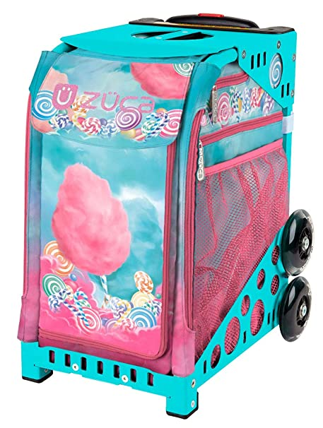Amazon.com: Zuca Sport Bag - Cotton Candy (Turquoise Frame ...