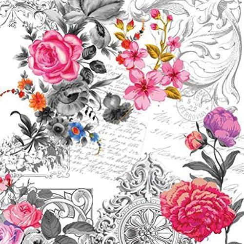 paper napkins decoupage x 2 Alice in Wonderland mad hatter tea party 33cm