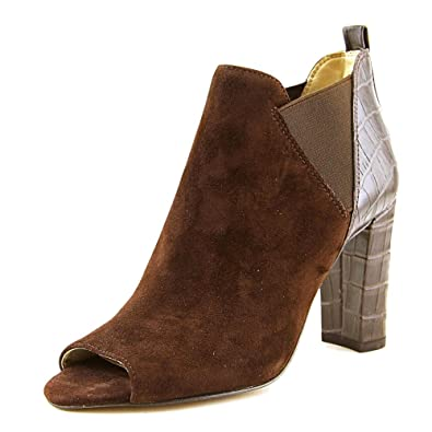 115eb4bb4bf Marc Fisher Womens Sayla Suede Open Toe Ankle Fashion Boots