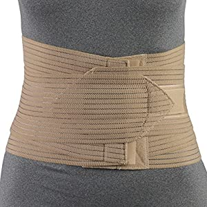 OTC Petite Lumbo-Sacral Support, Abdominal Uplift, 8-Inch Lower Back, Elastic, Small