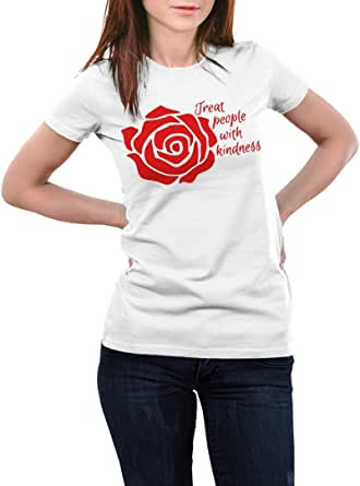 T-shirt Treat People With Kindness - Women